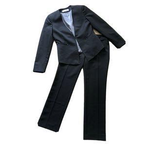tahari Blazer & Straight Pants Suit 2P